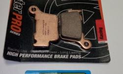 BRAKE PADS REAR SMALL SIDECAR