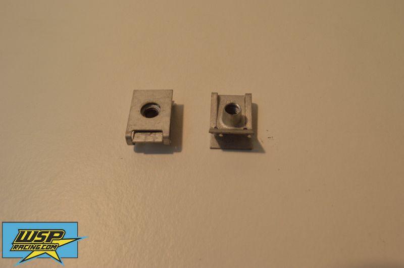 Fuel tank bolt clips