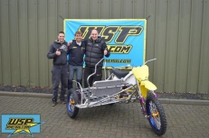 New WSP racing bike for team Vejchoda