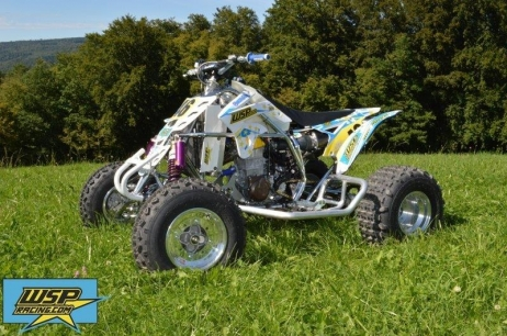 New WSP Racing Quad with Husky Power for Tomas Tunikas delivered