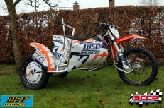 WSP Racing introduceert WSP/KTM Concept Prototype Sidecar Model 2016
